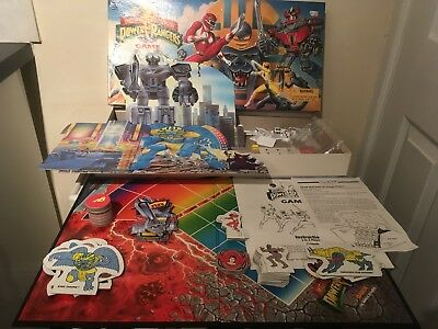 Mighty Morphin Power Rangers - Retro/Vintage Board Game