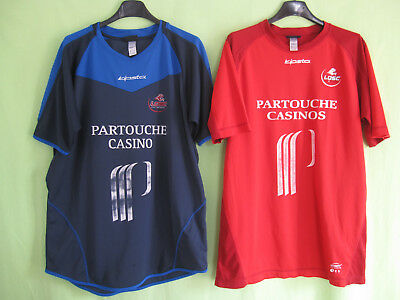 db5ed209b Lot 2 Maillot LOSC Lille Vintage Bodmer  12 Decathlon Partouche Jersey - XL