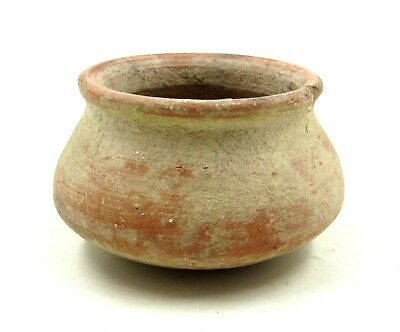 Authentic Ancient Roman Legionary Terracotta Bowl -  L50