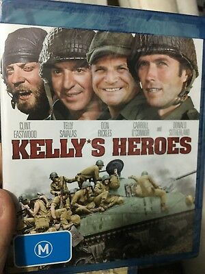 Kelly's Heroes NEW/sealed BLU RAY (1970 Clint Eastwood war movie)