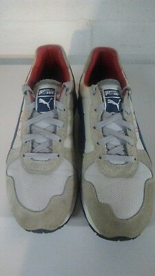 6620897c18b Vintage PUMA TX-3 Men s Running Shoes Size 11.5 US Blue Red White and Gray