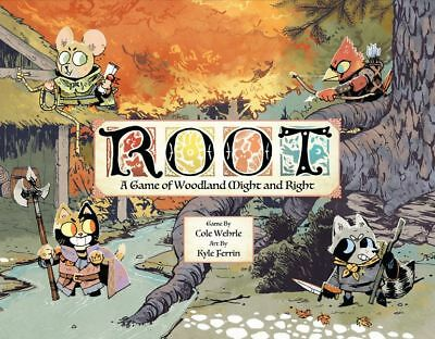 ROOT - A Game of Woodland Might and Right - NEW