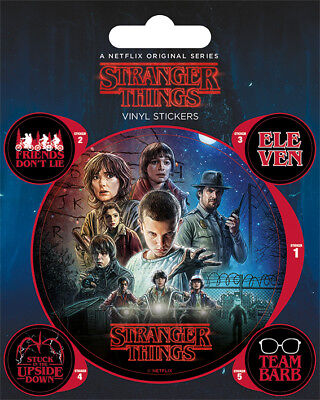 Stranger Things One Sheet Stickers  Pack New 100%official Merchandise