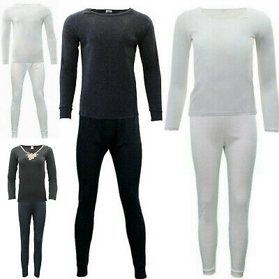 2pc set Mens Womens Merino Wool Top Pants Thermal Leggings Long Johns Underwear