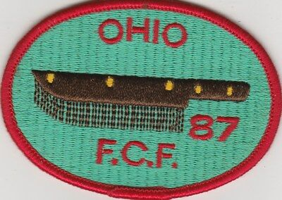 "FCF Royal Rangers Ohio 1987 Mint 3.5 x 2"". Patch Rare in New Condition"