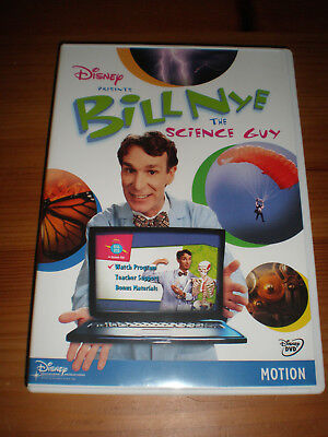 Bill Nye the Science Guy DVD Motion, great condition