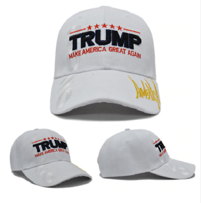 MAGA President Donald Trump 2020 Make America Great Again Hat WHITE cap