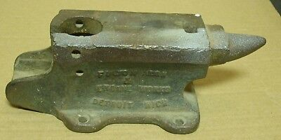 Antique Cheney Anvil & Vise No. 20, Fulton Iron & Engine Works Anvil, AS-IS