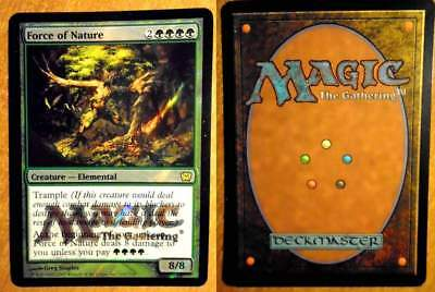 Magic Mtg – Force Of Nature – 9° Edition - Rare + Foil