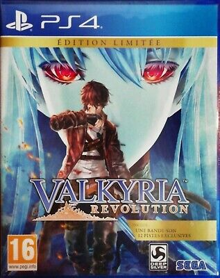 VALKYRIA REVOLUTION Limited Edition - PlayStation 4 PS4 ~16+ Brand New & Sealed!