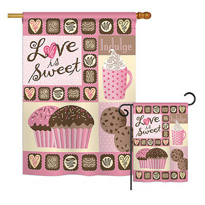 Love is Sweet - Impressions Decorative Flags Kit - FK101048-BO