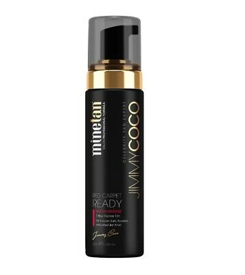 JIMMY COCO RED CARPET AIRBRUSHED SELF TANNING FOAM MINE TAN 200ml