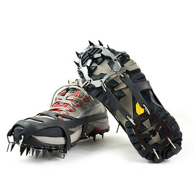 FootTonix Winter Traction Anti Slip  Ice Snow Spikes Cleats Crampons FREE Spikes