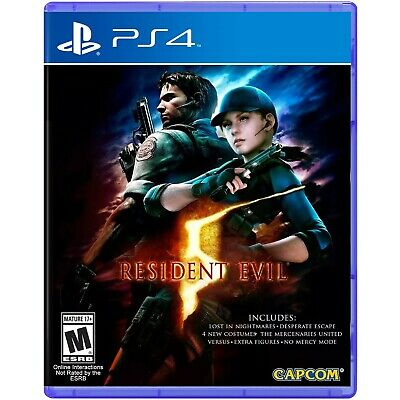 Video Gioco Sony Ps4 Resident Evil 5 Multilingue Italiano