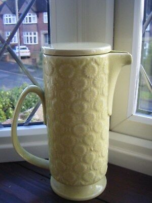 Arthur Wood Retro Lidded Jug Or Coffee PotPale Lime In Colour