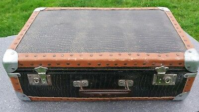 Vintage French suitcase.