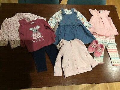 Baby Girls Clothes Bundle 6 - 9 Months (Mothercare, H&M, Milly & Jake)