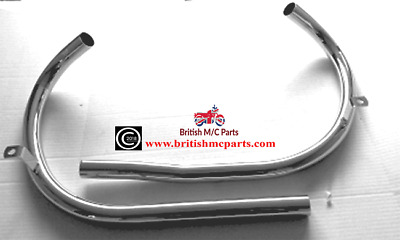 Exhaust Pipes, BSA  A7, Rigid & Plunger, 1948-52 , 67-2675, 67-2679 UK Product