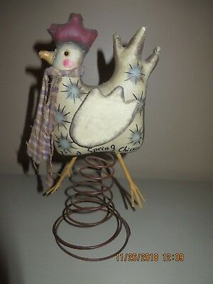 "Vintage ""I'm A Spring Chicken"" Home Decor"