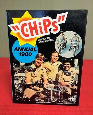 CHiPs - Californian Highway Patrol Annual, vintage 1980  'MINT condition'