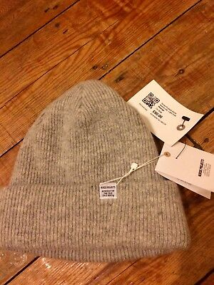 af86eea37f Cacao Norse Projects Borderline Bobble/Beanie Hat 100% Lambswool