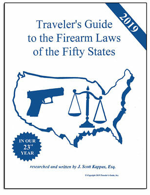 2019 Gun Laws of the 50 States - Traveler's Guide to Firearm Laws Ready to Ship