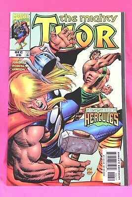 The Mighty Thor #6 Volume 2 Hercules Marvel Comics Comic VF 1998