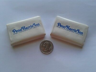 PENN HARRIS INN and CONVENTION CENTER Camp Hill PA personal size mini DIAL SOAPS