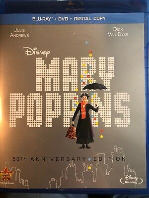 Mary Poppins (Blu-ray 50th Anniversary Edition)