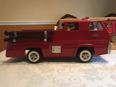 VINTAGE TONKA PUMPER 2820  With BOX FIRE TRUCK In Excellent Condition