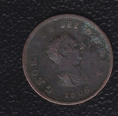 Great Britain Half Penny 1806
