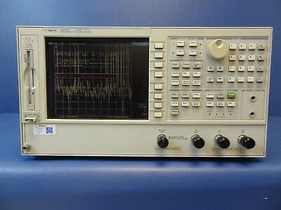 Agilent 8753ES Network Analyzer 30KHz - 3 GHz OPT 011