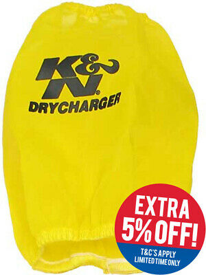 K&N Round Tapered Air Filter Drycharger Wrap (RC-4630DY)