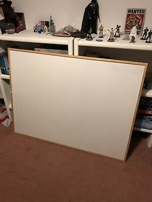 2 X Large White / Wipe Boards