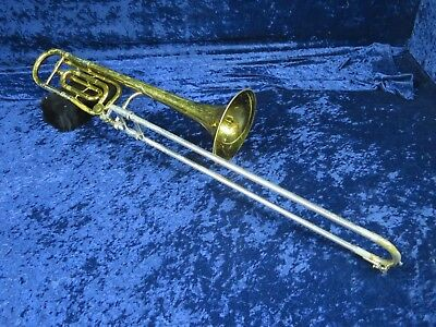 King 3B Trombone with F Trigger Attachment Ser#479531 Plays Needs Adjustment