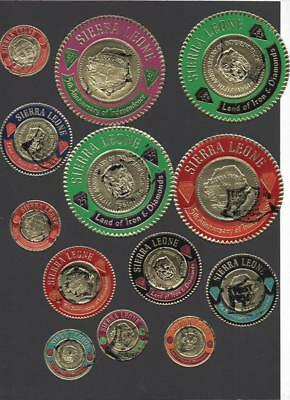 Sierra Leone Collection On 3 Pages