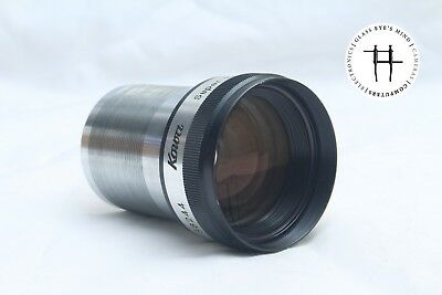 Kowa Super Prominar-16 50mm f/1.3 lens for 16mm projector, FAST, clean, EIKI