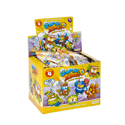 SUPERZINGS serie 3 ( Lote de 25 sobres sobres One Pack )