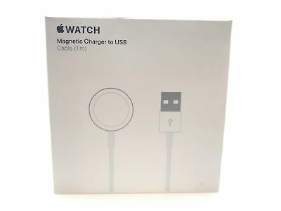 Authentic Apple MU9G2AM 3.3' Magnetic Charging Cable for Apple Watch A1923 White