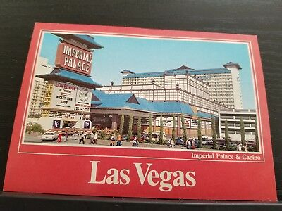 Postcard, Imperial Palace Hotel and Casino daytime, Las Vegas, Nevada