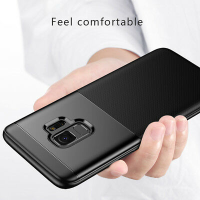 Luxury Shockproof Case Cover For Samsung Galaxy S9 / Plus +Free Screen Protector
