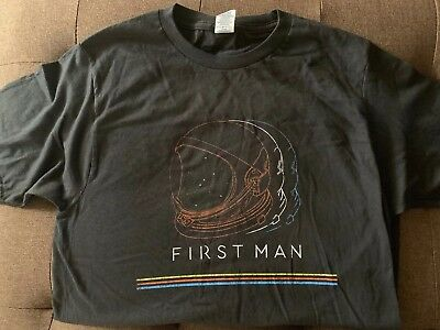 New FIRST MAN Movie T Shirt Promo Promotional Ryan Gosling