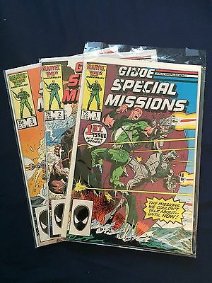 G.I. JOES Special Missions [ LOT OF 3 ]  V #1  #1 - #3  NM/NM+