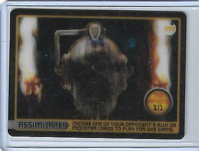 Doctor Who Monster Invasion - Complete 164 Card Set In Clear Binder -- Plus 090