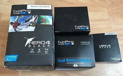 GoPro Hero 4 Black BOX and Manual and BOX for Dual Battery Charger / Hero4