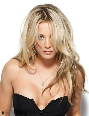 Kaley Cuoco With Hair On His Face 8x10 Glossy Photo Print