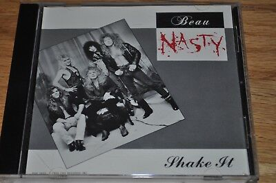 BEAU NASTY Shake It CD WILDSIDE RARE hair metal DIRTY BUT WELL DRESSED promo