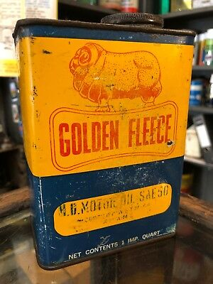 Golden Fleece Ram Qt Oil Can