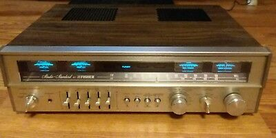 Vintage Fisher RS-2004A Stereo Receiver/Amplifier/EQ GREAT CONDITION!..POWERFUL!