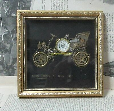 Vintage Steampunk Watch Parts Collage Car Ford Model A 1903